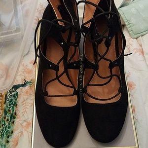 H&M lace up shoes 9m